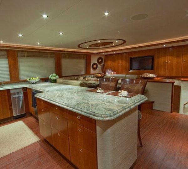 ALICIA Yacht Charter Details Westport 112 CHARTERWORLD
